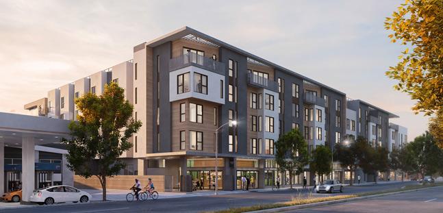 1500 San Pablo Apartments Rendering