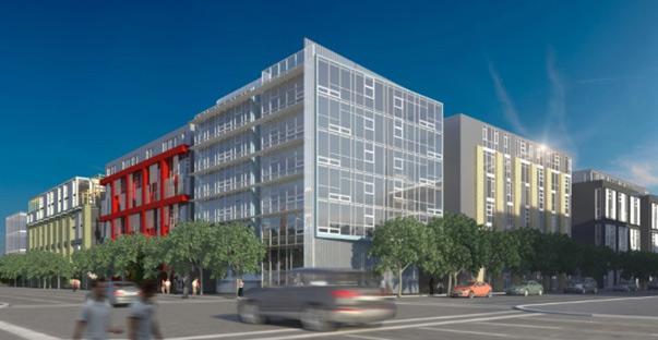 L Seven Rendering of Berkeley Apartments