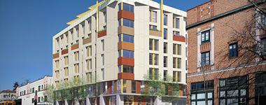 2099 MLK Apartments Rendering