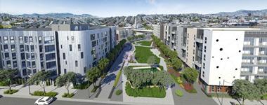 Potrero apartments in San Francisco